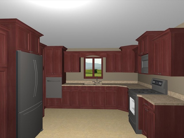 overall kitchen w valance